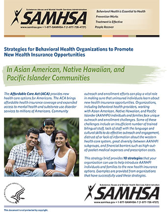 Strategies For Behavioral Health Organizations To Promote New Health
