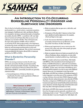 an introduction to co occurring borderline personality disorder and