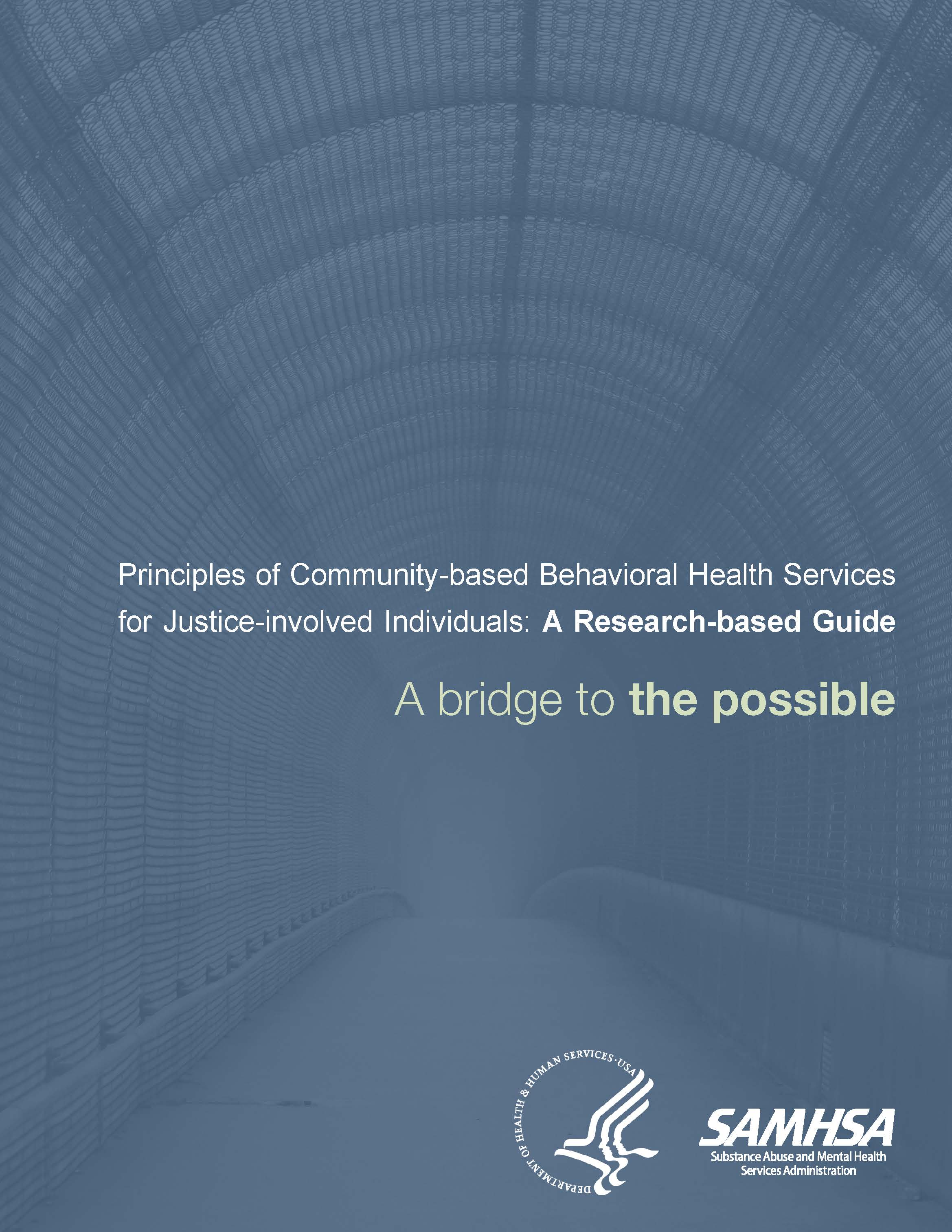 6909ac8936bf8 Principles of Community-based Behavioral Health Services for Justice ...