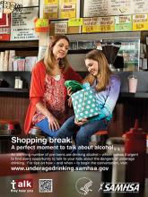 Talk. They Hear You: Shopping Break – Poster