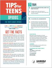 Tips for Teens: The Truth About Opioids