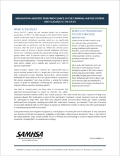 Medication-Assisted Treatment (MAT) in the Criminal Justice System: Brief Guidance to the States