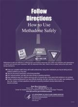 Follow Directions: How to Use Methadone Safely
