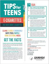 Tips for Teens: E-Cigarettes
