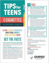 Tips for Teens: E-Cigarettes