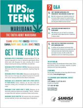 Tips for Teens: Marijuana