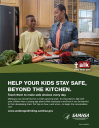 Cover image for Talk. They Hear You: Help Your Kids Stay Safe, Beyond the Kitchen Print Public Service Announcement  – Flyer