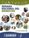 Cover image for SAMHSA's Wellness Initiative: Wellness Week September 11-17, 2016 (Spanish Version Poster)