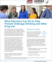 Cover image for Talk. They Hear You: What Educators Can Do to Help Prevent Underage Drinking and Other Drug Use – Fact Sheet