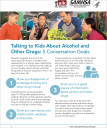 Talk. They Hear You: Talking to Kids About Alcohol and Other Drugs: 5 Conversation Goals – Fact Sheet