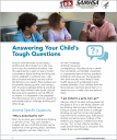 Cover image for Talk. They Hear You: Answering Your Child's Tough Questions – Fact Sheet