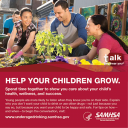Cover image for Talk. They Hear You: Help Your Children Grow Print Public Service Announcement  – Wallet Card