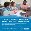 Cover image for Talk. They Hear You: Coach Your Kids Through More Than Just Homework Print Public Service Announcement – Wallet Card