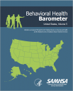 Cover image for Behavioral Health Barometer, Volume 5