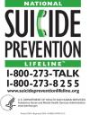 Cover image for National Suicide Prevention Lifeline magnet