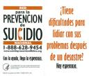 Cover image for Having Trouble Coping After a Disaster? There Is Hope. National Suicide Prevention Lifeline Wallet Card (Spanish version)